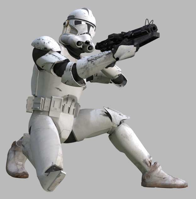 Star Wars Clone Trooper Armor Episode 3